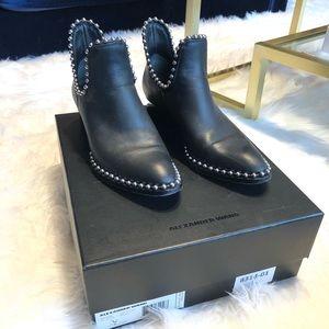 Alexander Wang Women's Kori Studded Cutout Boots